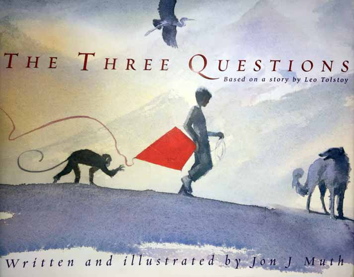 A simple story how compassion and living in the moment are the answers to the three questions.