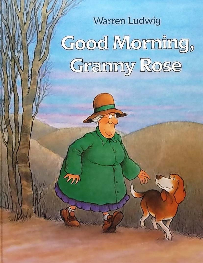 Out for a morning walk to see the sunrise Granny Rose and her dog Henry take shelter in a cave. The discover a bear, and rather than be afraid they care for the bear to help him find comfort and go back to sleep.