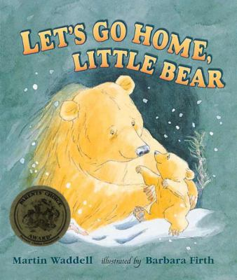 Big Bear and Little Bear are returning home from a wonderful romp through the snowy woods, when a noise startles Little Bear. Plod, plod, plod—suddenly the woods are alive with unseen Plodders and Drippers and Ploppers. Poor Little Bear is very scared. But Big Bear is beside him with comforting explanations and a piggyback ride to bring him safely home.