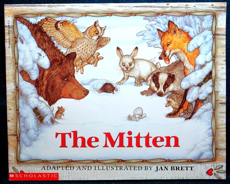 Nicki, a young Ukranian boy, loses a mitten. The animals of the forest pack themselves in as tight as they can, but a small mouse manages to come in and his whiskers tickle the bear's nose.