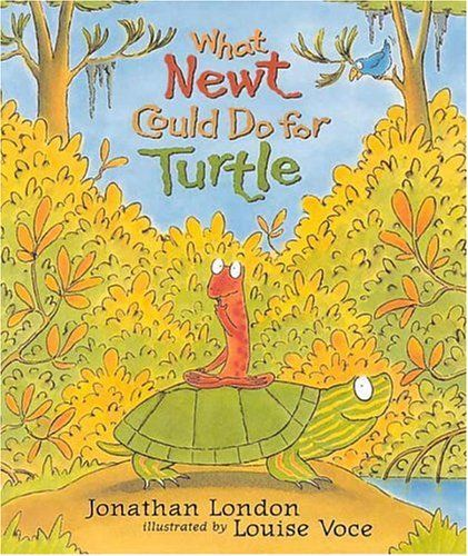 Newt wakes up from his winter's nap, deep in the mud. Luckily, his dearest friend, Turtle, wakes up and pulls him out. Now, Newt has spent the summer trying to think of a way to repay his friend.