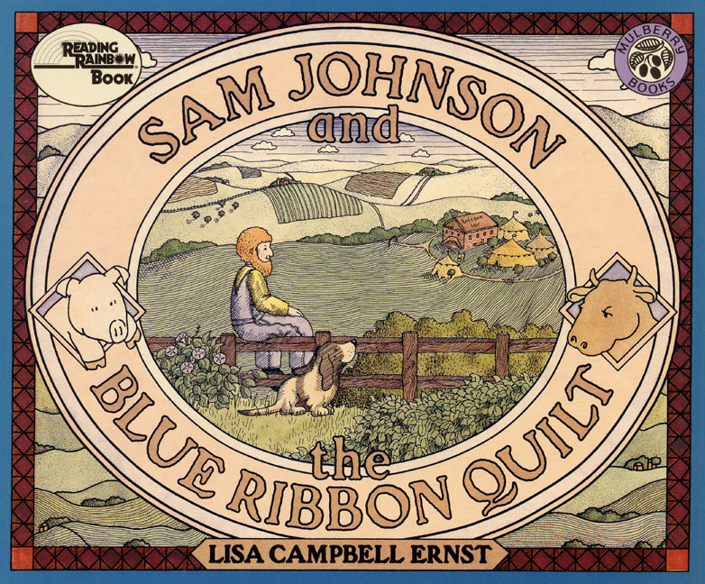 In turn-of-the-century Rosedale, a quilting farmer is an unacceptable oddity, so Sam Johnson challenges the women in the town to a blue-ribbon quilting contest to set matters right. In the end the women and the men cooperate on the winning quilt.