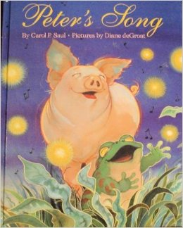 Peter the pig has composed a song and goes off in search of someone who will appreciate his tune. At a nearby pond, he encounters Frank the frog, who not only listens to Peter's song, but shares his own, and the new friends make music together,