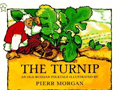 The turnip is too big to pull out of the ground in this Russian Folktale. Everyone pulls together, even Keska the cat, but it's not until help comes from a most unexpected source that the giant vegetable finally comes out.