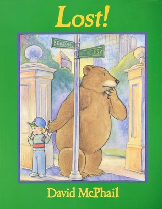 A young boy finds a lost a bear and does everything he can to help the bear find its way back home. The boy attempts to use all his resources including a library. Finally when they read the bear's home they waived goodbye but then the little boy realized he was lost now and the bear offered to help him find his home.